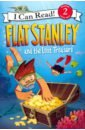 Brown Jeff Flat Stanley and the Lost Treasure (Level 2)