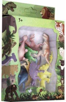 Купить Набор Фигурки зверей В Мире Животных (71006), Премьер-игрушка, Животный мир