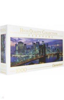 Купить Пазл-1000. Нью Йорк Бруклинский мост (39434), Clementoni, Пазлы (1000 элементов)