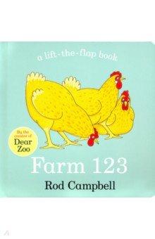Купить Farm 123, Mac Children Books, Первые книги малыша на английском языке