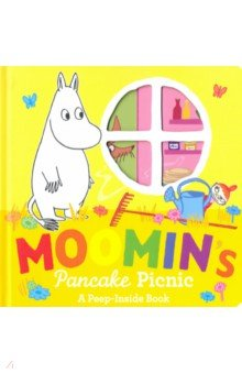 Купить Moomin's Pancake Picnic Peep-Inside Board book, Puffin, Художественная литература для детей на англ.яз.
