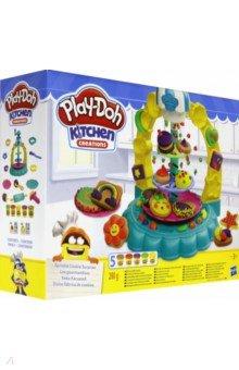 Купить ПЛЭЙ-ДО Набор игровой Карусель сладостей (E5109EU4), Hasbro, Наборы для лепки с игровыми элементами