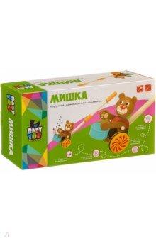 Купить Игрушка деревянная каталка Мишка (ВВ4015), Bondibon, Каталки