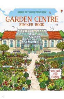 Купить Doll's House sticker book: Garden Centre, Usborne, Книги для детского досуга на английском языке