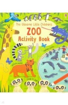 Купить Little Children's Zoo Activity Book, Usborne, Книги для детского досуга на английском языке