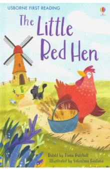 Купить The Little Red Hen, Usborne, Художественная литература для детей на англ.яз.
