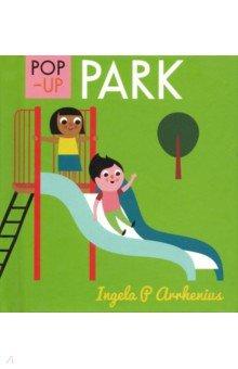 Купить Pop-up Park, Walker Books, Первые книги малыша на английском языке