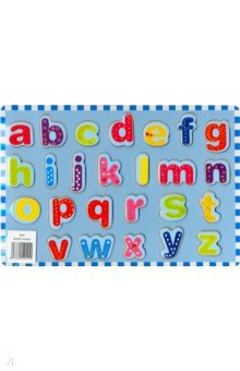 Купить Рамка-вкладыш Английский алфавит (D261), ВГА, Развивающие рамки