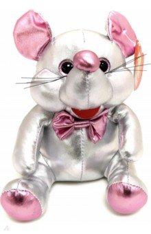 Купить Игрушка Мышка серебристая , 16 см, серия Металлик (М2056), ABtoys, Мягкие игрушки