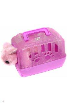 Купить Игрушка Мой питомец. Кошечка в переноске (DR5009), Junfa, Мягкие игрушки