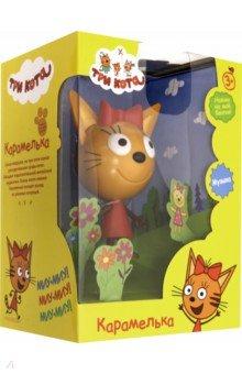 Купить Фигурка пластиковая Три кота. Карамелька , 15 см (Т16180), 1TOY, Герои мультфильмов