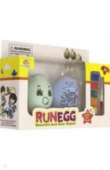Купить Набор для творчества с красками Яйцо-раскраска , 1TOY, Раскрашиваем и декорируем объемные фигуры