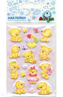 Купить Зефирные наклейки Милашки (MMS066), Липуня, Наклейки детские