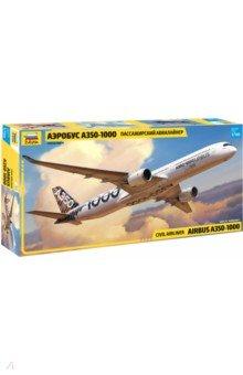 Купить Сборная модель Пассажирский авиалайнер Аэробус А-350-1000 (1/144) (7020), Звезда, Пластиковые модели: Авиатехника (1:144)