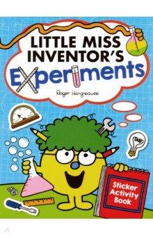 Купить Little Miss Inventor's Experiments. Sticker Activity Book, Egmont Books, Книги для детского досуга на английском языке