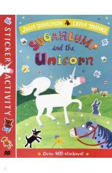 Купить Sugarlump and the Unicorn. Sticker Book, Mac Children Books, Книги для детского досуга на английском языке