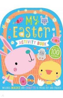 Купить My Easter Activity Book, Make Believe Ideas, Книги для детского досуга на английском языке