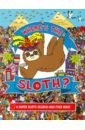 Обложка Where's the Sloth? A Super Sloth Search-and-Find Book