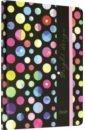 Обложка Ежедневник 80л,Яркие горошины,С3354-09