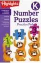 Kindergarten Number Puzzles паззл vintage puzzles