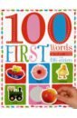 100 First Words - Sticker Activity Book inspirational letters words patterned wall art sticker