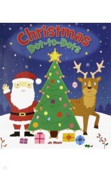 Купить Christmas Dot-to-Dots, Arcturus, Первые книги малыша на английском языке