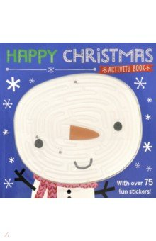 Купить Happy Christmas. Activity Book, Make Believe Ideas, Книги для детского досуга на английском языке
