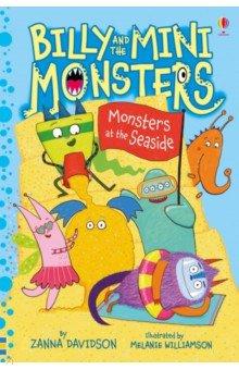 Купить Billy and the Mini Monsters at the Seaside, Usborne, Художественная литература для детей на англ.яз.