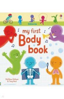 Купить My First Body Book, Usborne, Первые книги малыша на английском языке
