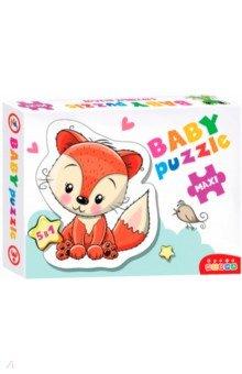Купить Baby Puzzle. Лесные животные (3843), Дрофа Медиа, Пазлы (Maxi)