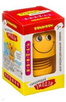 Купить Чудики танцующий на пружинке. Эмодзи-улыбающийся (ВВ4131), Bondibon, Другие виды игрушек