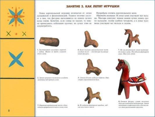 Иллюстрация 1 из 23 для Каргопольская игрушка. Рабочая тетрадь | Лабиринт - книги. Источник: Лабиринт