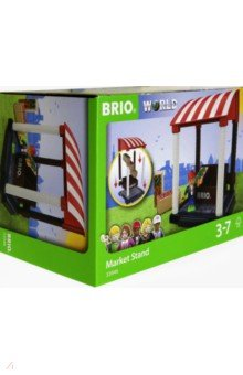 Купить Игровой набор Магазинчик (11 предметов) (33946), BRIO, Играем в профессии
