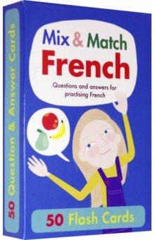 Купить Mix & Match French Flash Cards (x50), B Small Publishing, Обучающие карточки