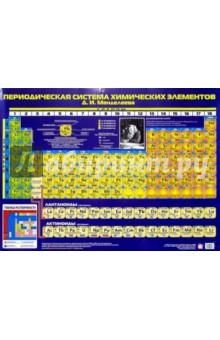 Плакат: Периодическая система Менделеева (А2)