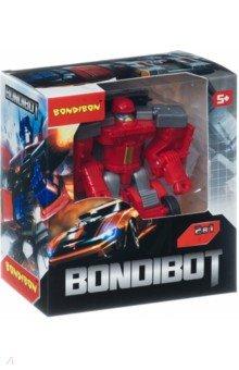 Купить Трансформер 2 в 1 BONDIBOT Робот-пожарная машина (888-3), Bondibon, Роботы и трансформеры
