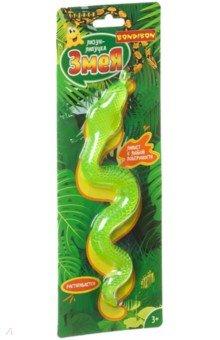 Купить Игрушка Чудики. Лизун-липучка «Змея», салатовая (ВВ4287), Bondibon, Игрушка-антистресс
