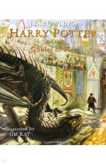 Купить Harry Potter and the Goblet of Fire, Bloomsbury, Художественная литература для детей на англ.яз.
