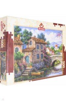 Купить Пазл 500 деталей Канал с цветами (5070), Art Puzzle, Пазлы (400-600 элементов)