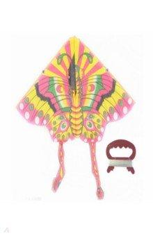 Купить Воздушный змей Бабочка (катушка, леер 30 м), 1TOY, Игры для активного отдыха
