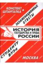 Лебедева Е.С. Конспект+шпаргалка: История государствав и права России