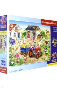 Купить Puzzle-40 MAXI. Жизнь на ферме ( В-040193), Castorland, Пазлы (12-50 элементов)