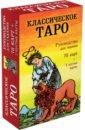 Обложка Классическое Таро. Руководство для гадания (78 карт, 2 пустые, инструкция в коробке)