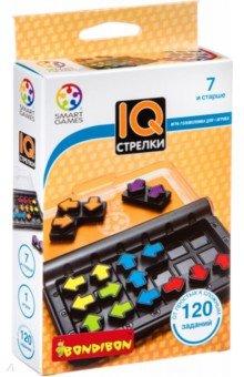 Купить Игра логическая IQ-Стрелки (SG 424 RU/ВВ4677), Bondibon, Головоломки