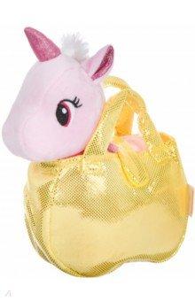 Единорог в сумке, МИЛОТА, цвет розовый (ВВ4602)