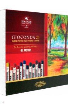 Пастель масляная профессиональная, 24 цвета, L=75мм,d=10мм (8354/24) ()
