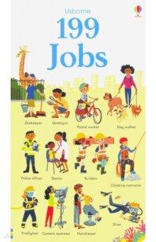 Купить 199 Jobs, Usborne, Первые книги малыша на английском языке