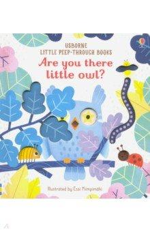 Купить Are You There Little Owl?, Usborne, Первые книги малыша на английском языке