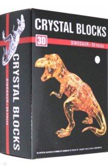 Купить 3D пазл Тиранозавр (50 деталей) (1396465), Рыжий Кот, Объемные пазлы