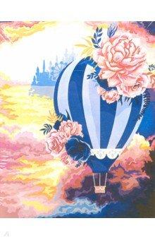 Купить Рисование по по дереву Воздушный шар (40х50 см) (FLA021), Русская живопись, Создаем и раскрашиваем картину